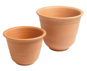 Yorkshire Flowerpots - small and medium bellpots