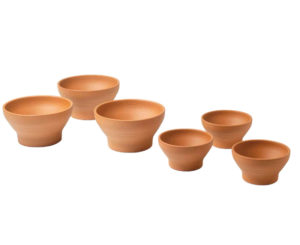 Naylor Patio Pot Deep Ribbed Bowls