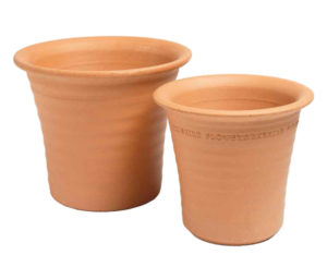 Yorkshire Flowerpots Medium Ribbed Flowerpot