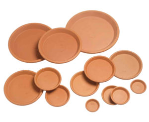 Naylor Patio Pot Plain Saucers